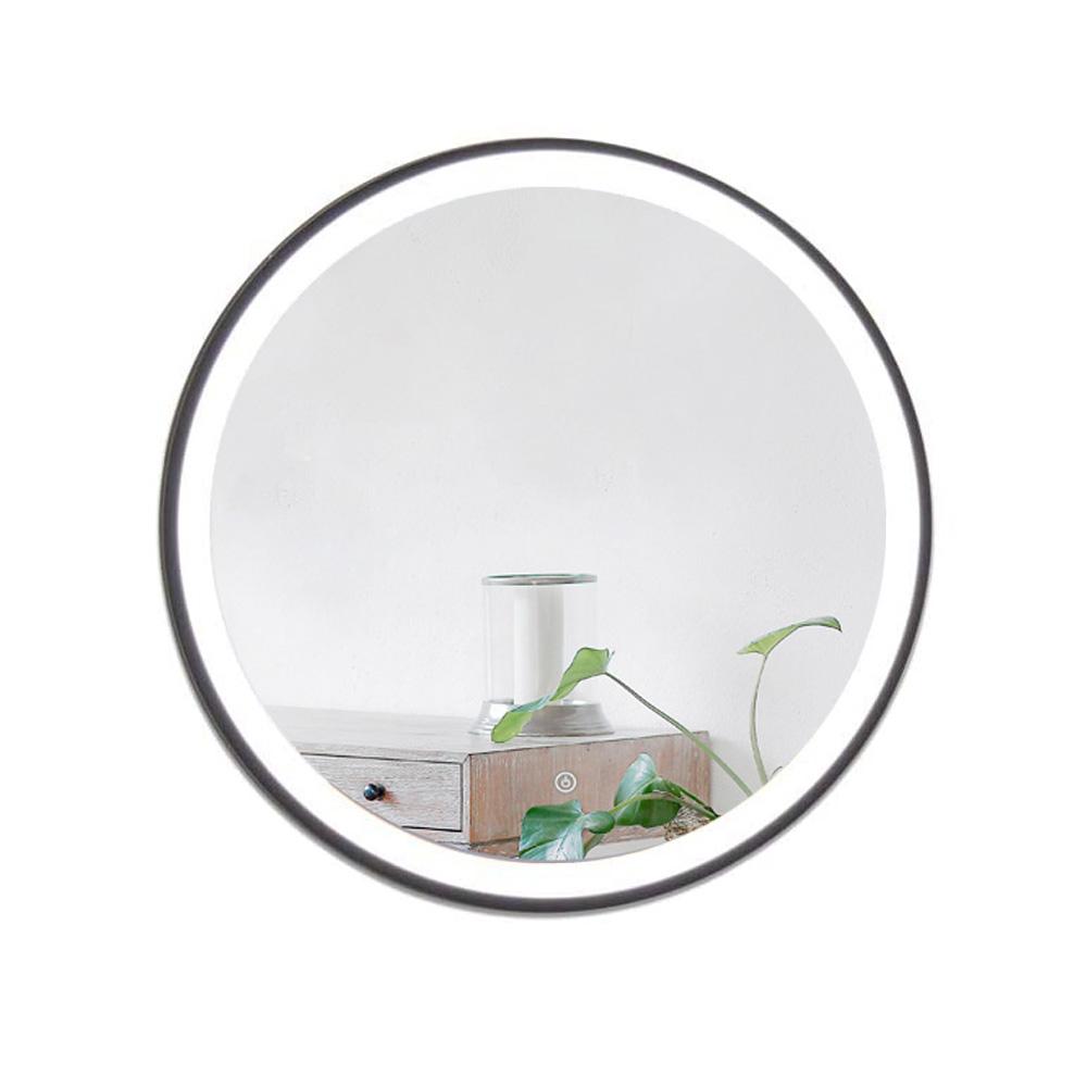 Wall Mounted  Led Illuminated Vanity Makeup Mirror with Anti-Fog led Light for Bathroom