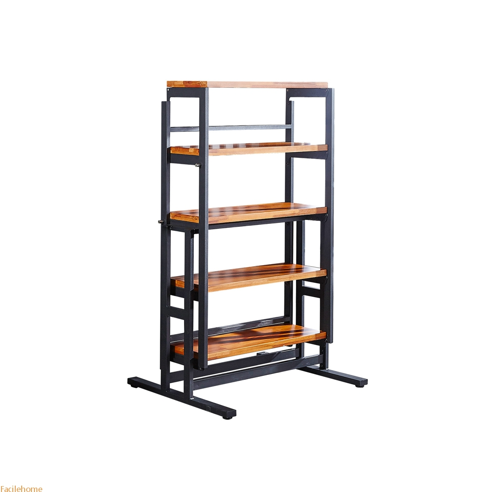 Convertible Console Shelf Table Dining Table Console Shelves Multiple Uses Modern