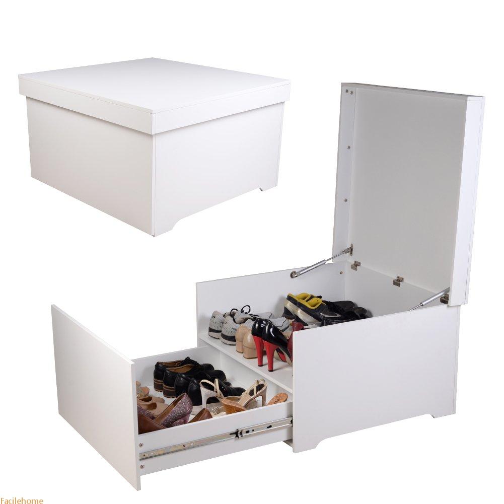 Shoe Box Cabinet Seat28.3IN * 27IN * 16IN
